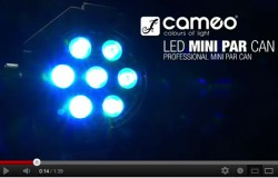 Cameo Light STUDIO MINI PAR CAN