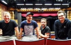 Dale, Philip, Mark und Markus