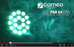 Produktvideo Cameo Studio PAR 64 Can