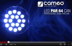 Produktvideo Cameo PAR 64 Can