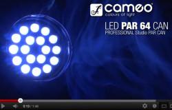 Produktvideo Cameo PAR 64 Can