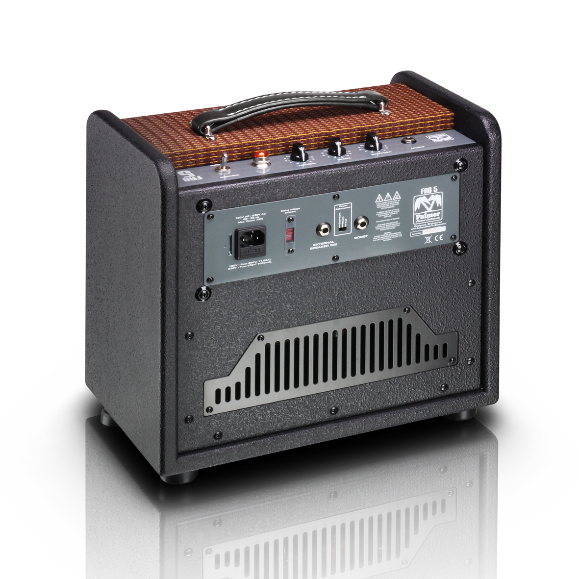 The Palmer FAB5 amplifier – Test report by guitarristaonline es | ah