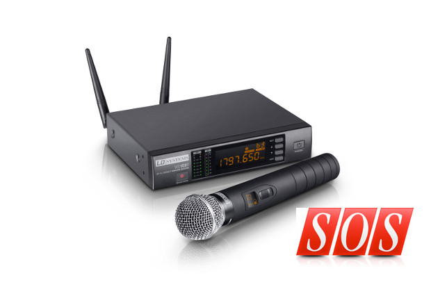 LD Systems WS1G8 HHD Wireless Microphone System – Test Report by