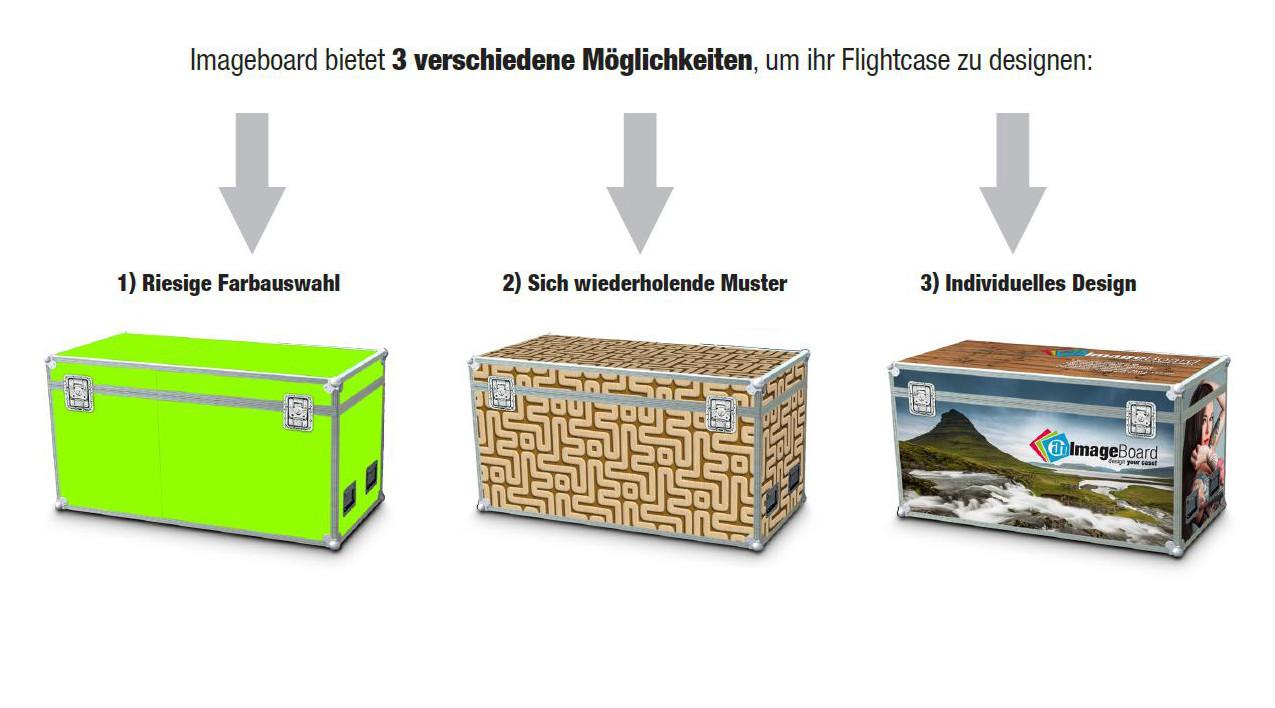 Ab sofort ist die Gestaltung individueller Flightcases ganz einfach