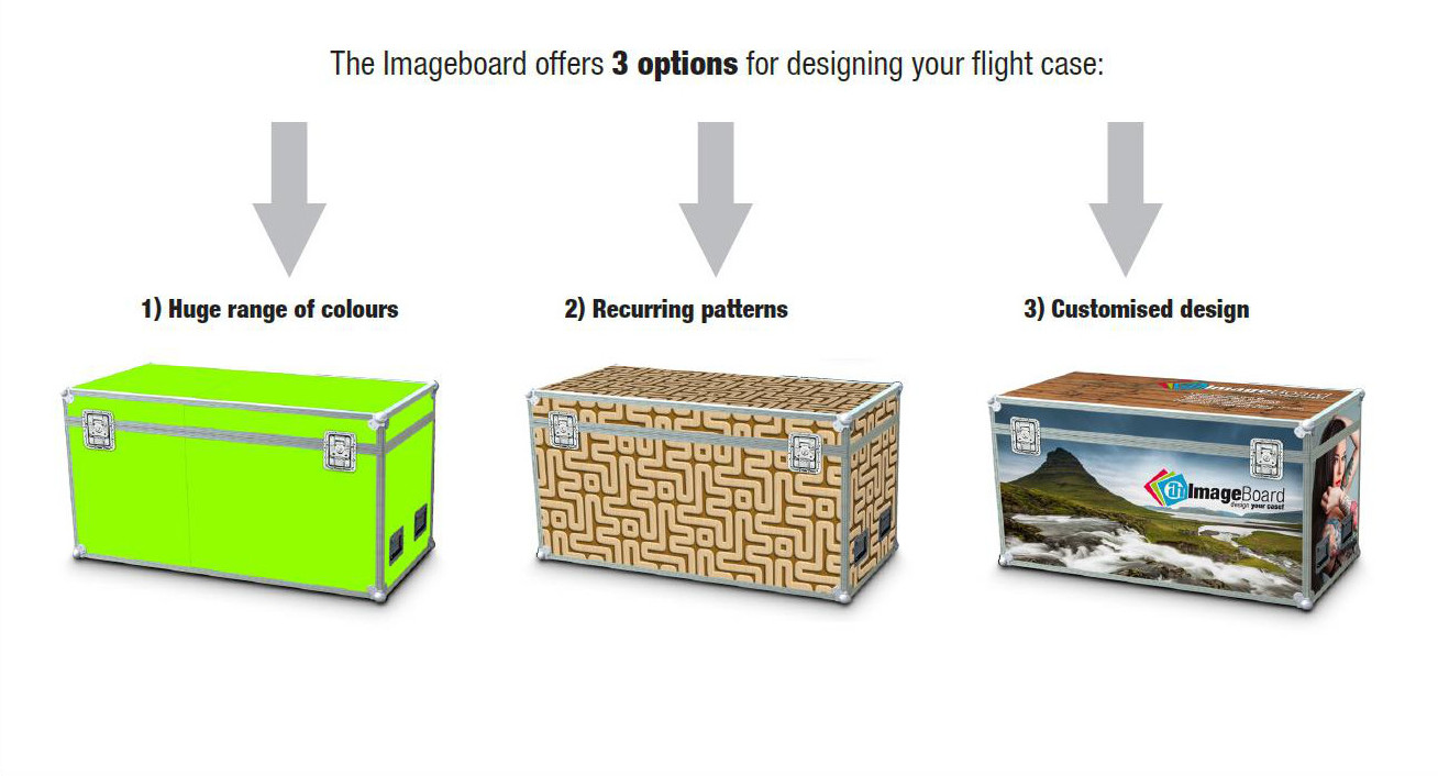 Customised flight case design has never been so simple