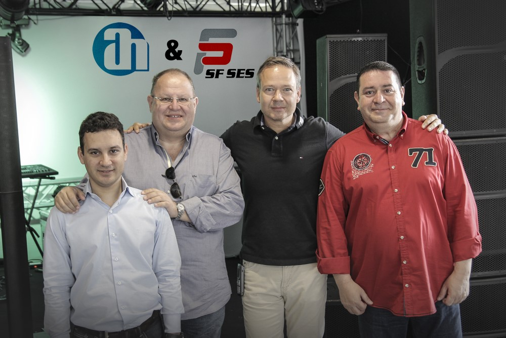 Photo attached: f.l.t.r: Ferhan Kayral, VP Technical & Projekt Department SF and SF Owner Samim Mutluer, Adam Hall COO Markus Jahnel and SF- Sales Manager Bertan Taptik