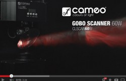 Cameo Light GOBO SCANNER