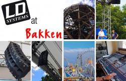LD Systems & Cameo Light at the Bakken amusement park in Copenhagen