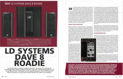 LD Systems DAVE 8 Roadie Okey Test