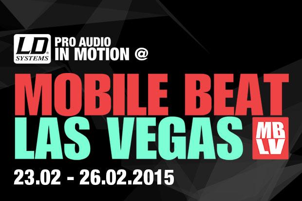 LD Systems en la feria Mobile Beat Las Vegas 2015