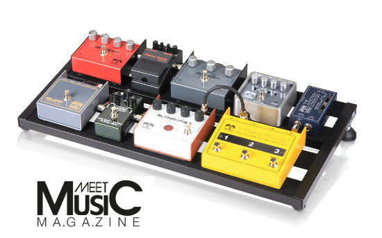 Palmer Pedalbay 60 - Pedalboard - Review in Meet Music magazine