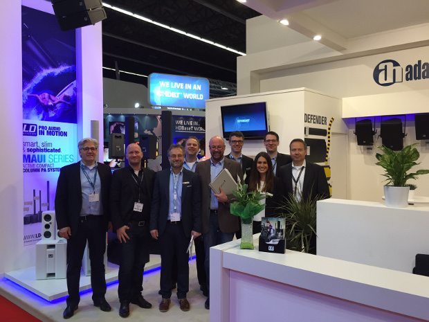 Nuestro equipo en la ISE Ámsterdam 2015