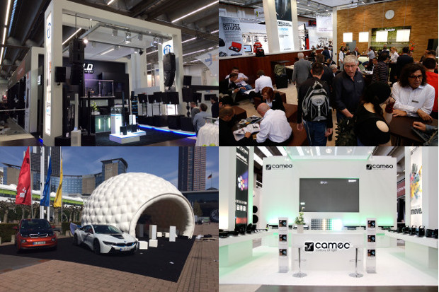 Hello 100 - impressions from the Musikmesse and prolight + sound 2015