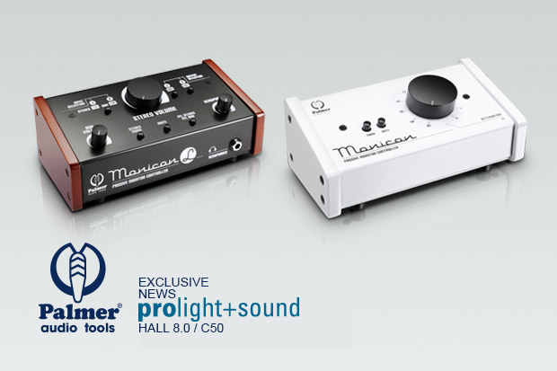 Rendez visite à Palmer Audio Tools au Prolight + Sound 2015
