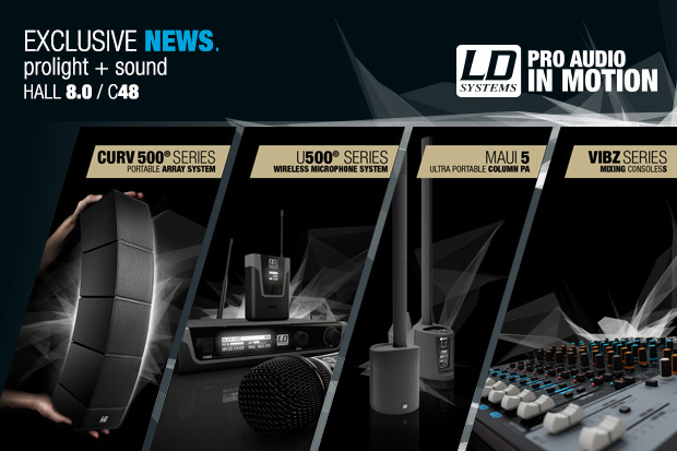 Rendez visite à LD Systems au Prolight + Sound 2015