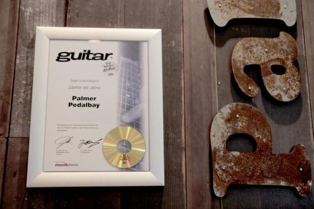 Palmer Pedalbay honoured as winner of the PPV Readers' Award
