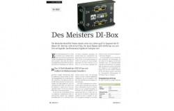 Palmer PDI03JB – 'The Master DI-Box'. A test report by Soundcheck.
