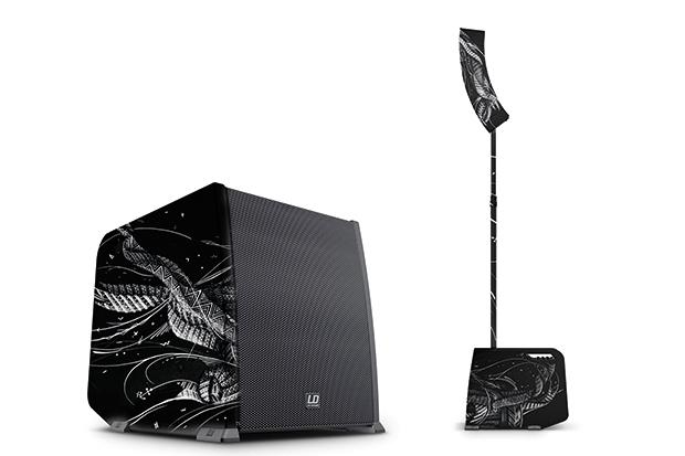 Presse: Cinq minutes pour gagner le CURV 500® Custom Art Edition de LD Systems