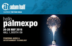 Press: Adam Hall Group with trade fair stand at PALM Expo India