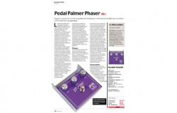 Palmer Phaser-Pedal – Eine Produktrezension im Magazin Guitarrista