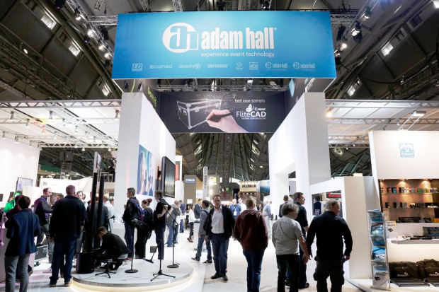 Le vif succès d'Adam Hall Group au salon Prolight + Sound 2017