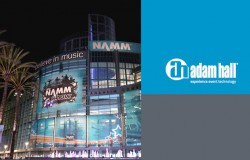 Presse: Adam Hall Group présentera des premières mondiales lors de l'édition 2018 du NAMM
