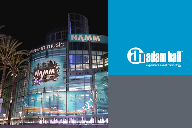 Adam Hall Group Launches Six World Premieres at Winter NAMM 2018