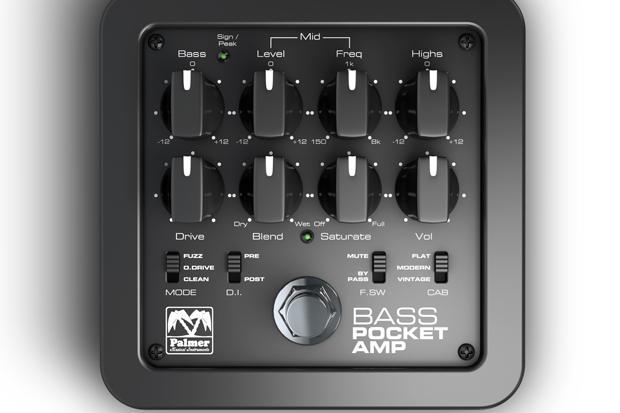 Palmer Pocket Amp Bass – Reseña de producto de Guitarrista