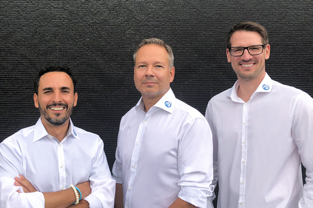 Photo (left to right): Gabriel Medrano, Markus Jahnel, Marcel Mieger