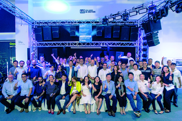 Press: Great Reception: Adam Hall Asia Pte Ltd Hosts APAC Distributor Summit in Singapore