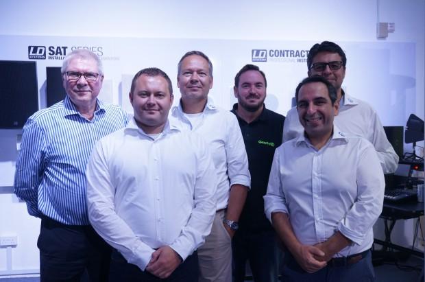 (von links nach rechts): Bodo Falkenried, Viktor Wiesner, Markus Jahnel, Robin Henlich, Alessio Foti, Chandan Mahtani