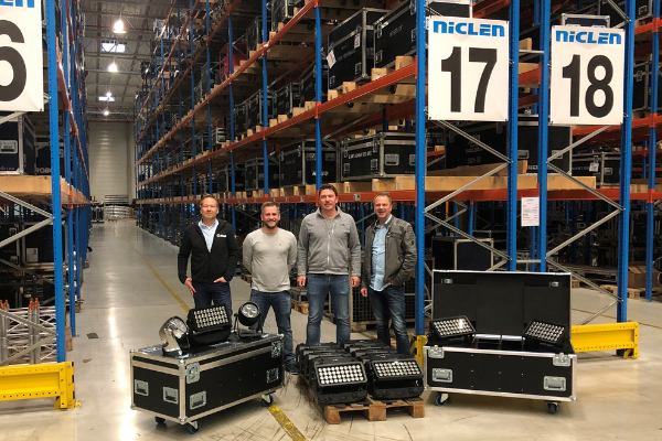 Press: NicLen invests in Cameo Light – large stock of ZENIT® series available from the dry hire provider