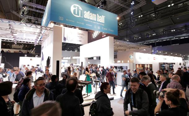 Prensa: Adam Hall Group en la Feria Prolight + Sound 2019  – Nuevos productos, campañas y perspectivas para el sector de la tecnología para eventos
