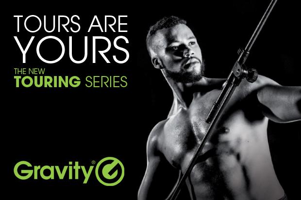 Presse: Série Gravity Touring – Des solutions de pieds professionnelles disponibles dès maintenant
