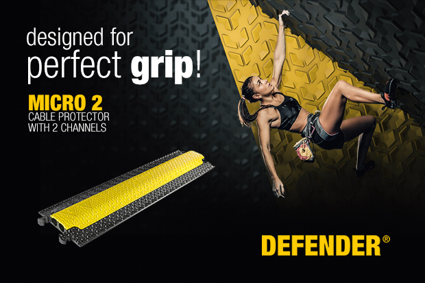 Presse: Protect Your World – Defender® présente la série de passages de câbles MICRO 2 ainsi que son nouveau site web dédié à la marque