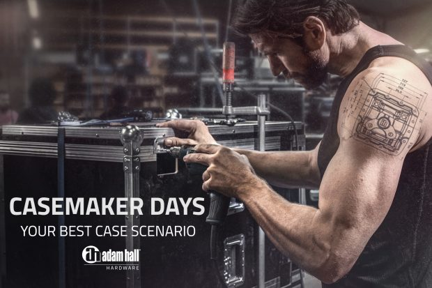 Presse: Première réussie des Casemaker Days – Adam Hall Group accueille le secteur de la construction de flight-cases à l'Experience Center