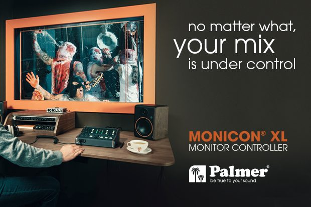 Press: Palmer® MONICON® XL – Studio Monitor Controller Available Now