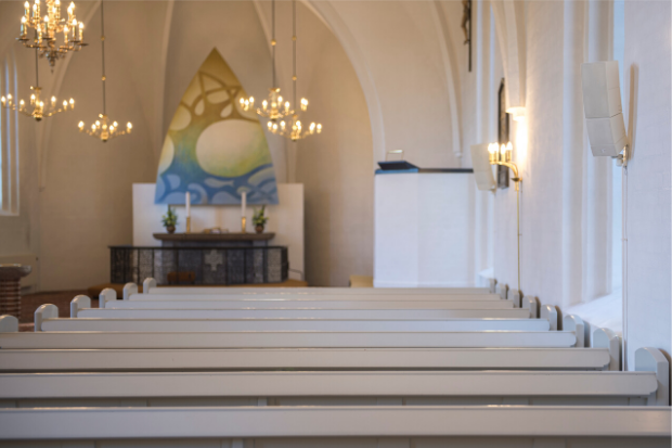 God's Word Audible to Everyone – LD Systems CURV 500 in Mølholm Church in Denmark