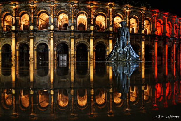 German Light for the Romans in France – Cameo ZENIT W300 Wash Lights Illuminate the Amphitheater in Nîmes