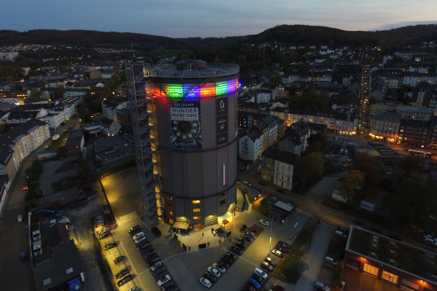 Architectural Lighting at Dizzying Heights – Cameo ZENIT® W300 Lights Up the Gaskessel Wuppertal SKYWALK