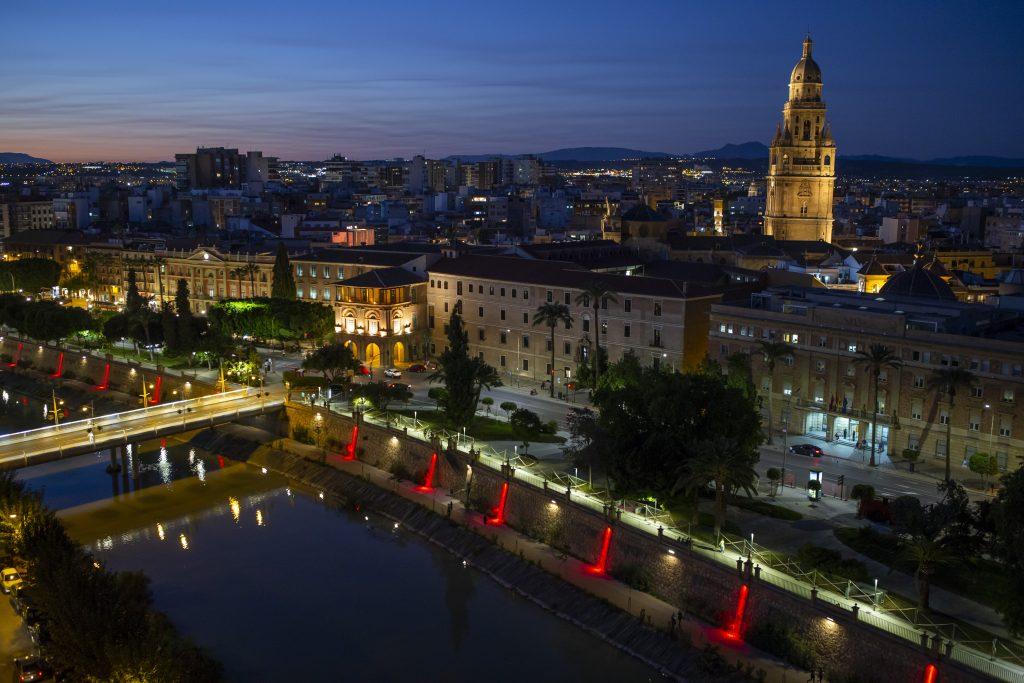 Cameo FLAT PRO Installation Segura River in Murcia Spain